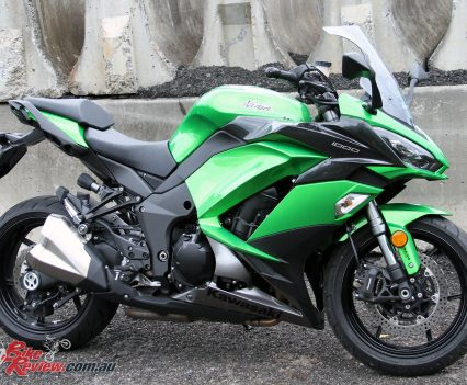 2017 Kawasaki Ninja 1000 - The Ninja 1000 definitely looks more sportsbike than tourer