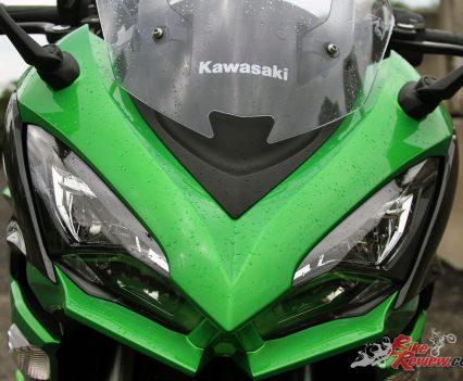 2017 Kawasaki Ninja 1000 - Aggressive visage
