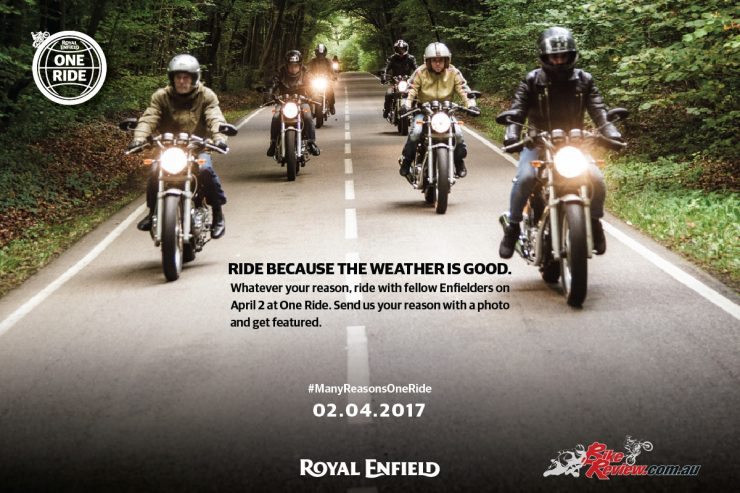 2017 Royal Enfield One Ride