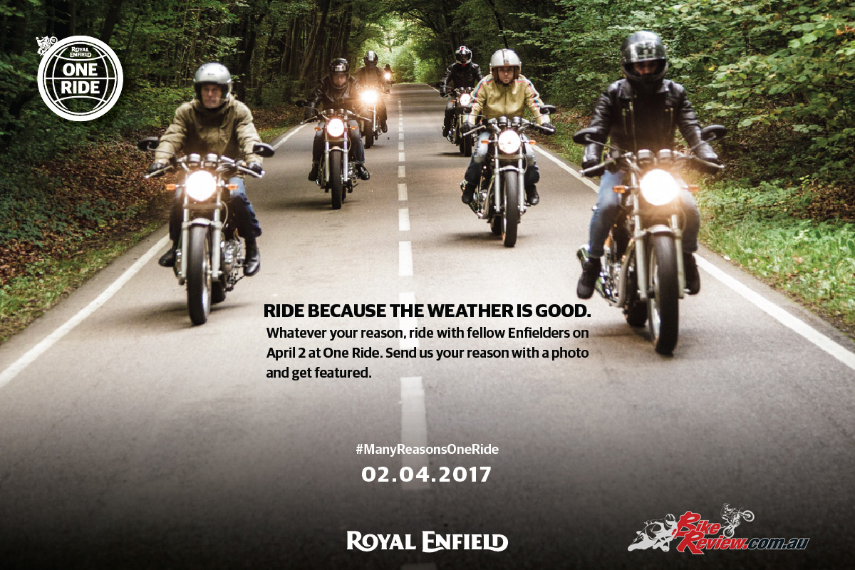Royal Enfield One Ride to be held on April 2, 2017 - Bike Review