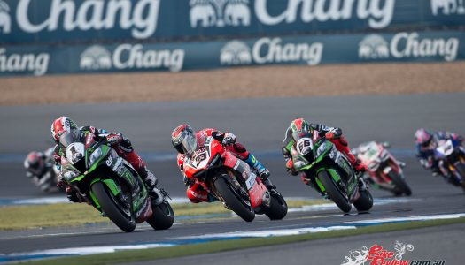 Rea takes another WorldSBK double in Thailand