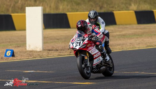 Win an pillion ride with an ASBK legend at Wakefield