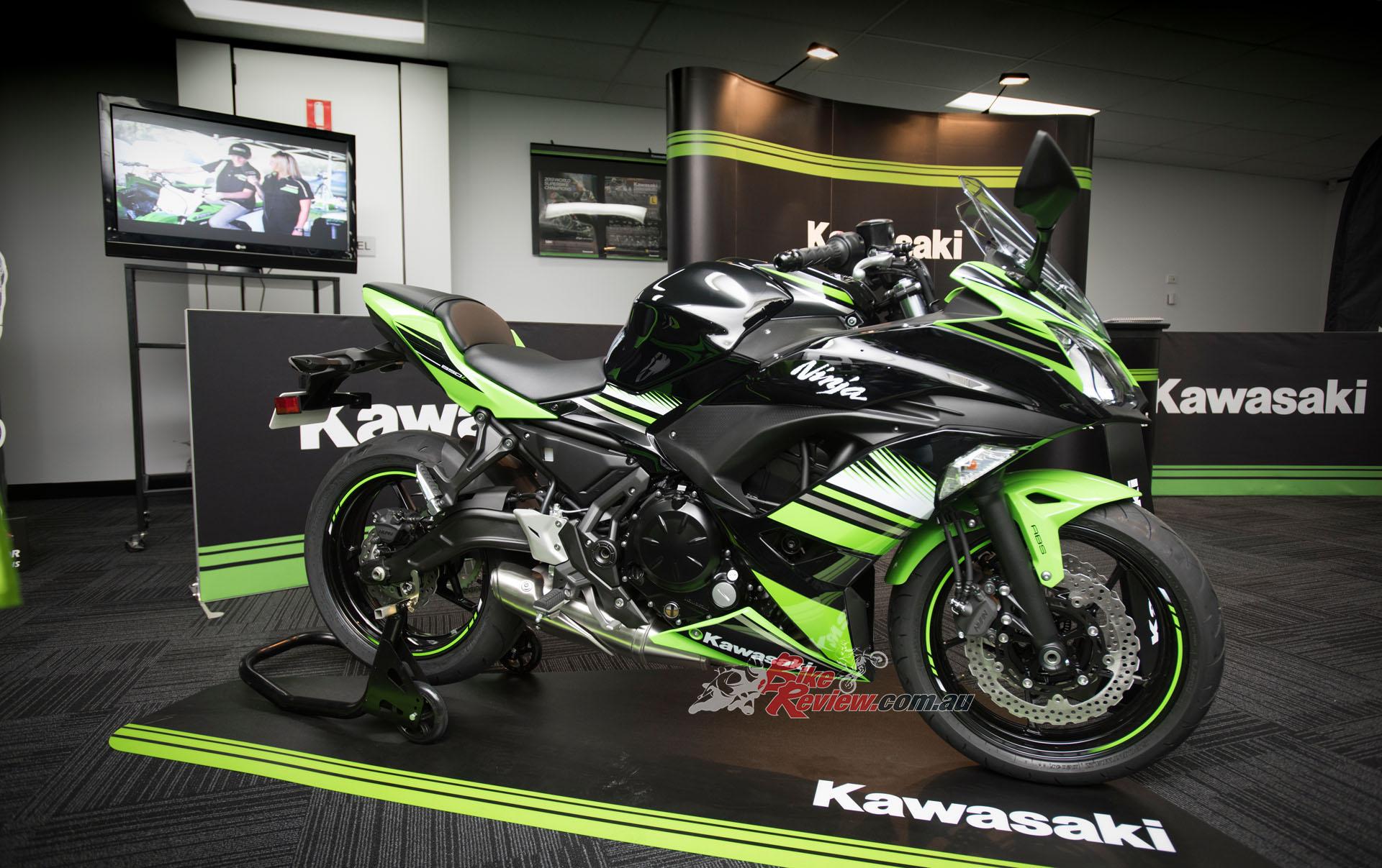 Quick Spin 2017 Kawasaki Ninja 650l Review Bike Review