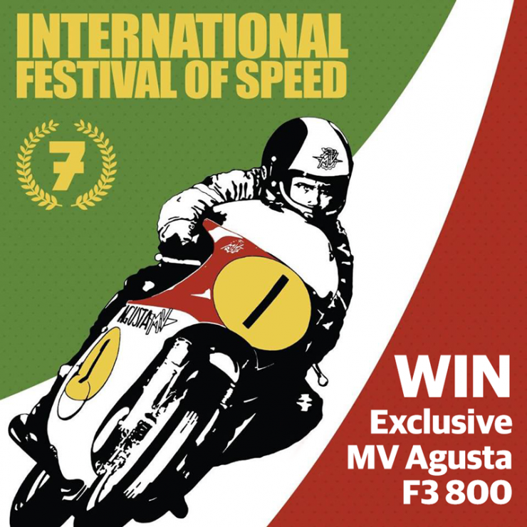 Don't forget to buy tickets for the raffle to win a MV Agusta F3 800!