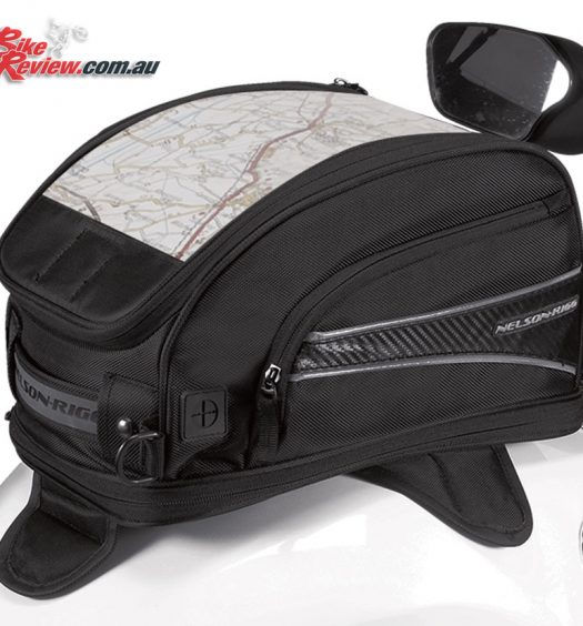 Nelson-Rigg CL-2015 Journey Tank Bag - Medium, Magnetic