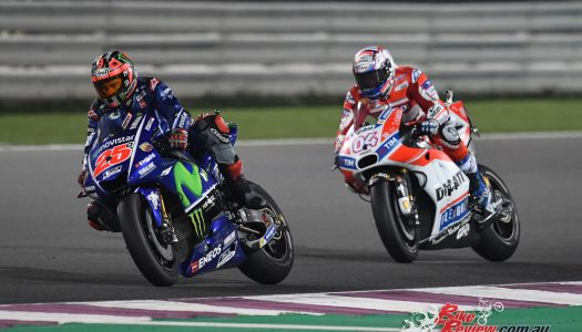 Viñales draws first blood in 2017 MotoGP