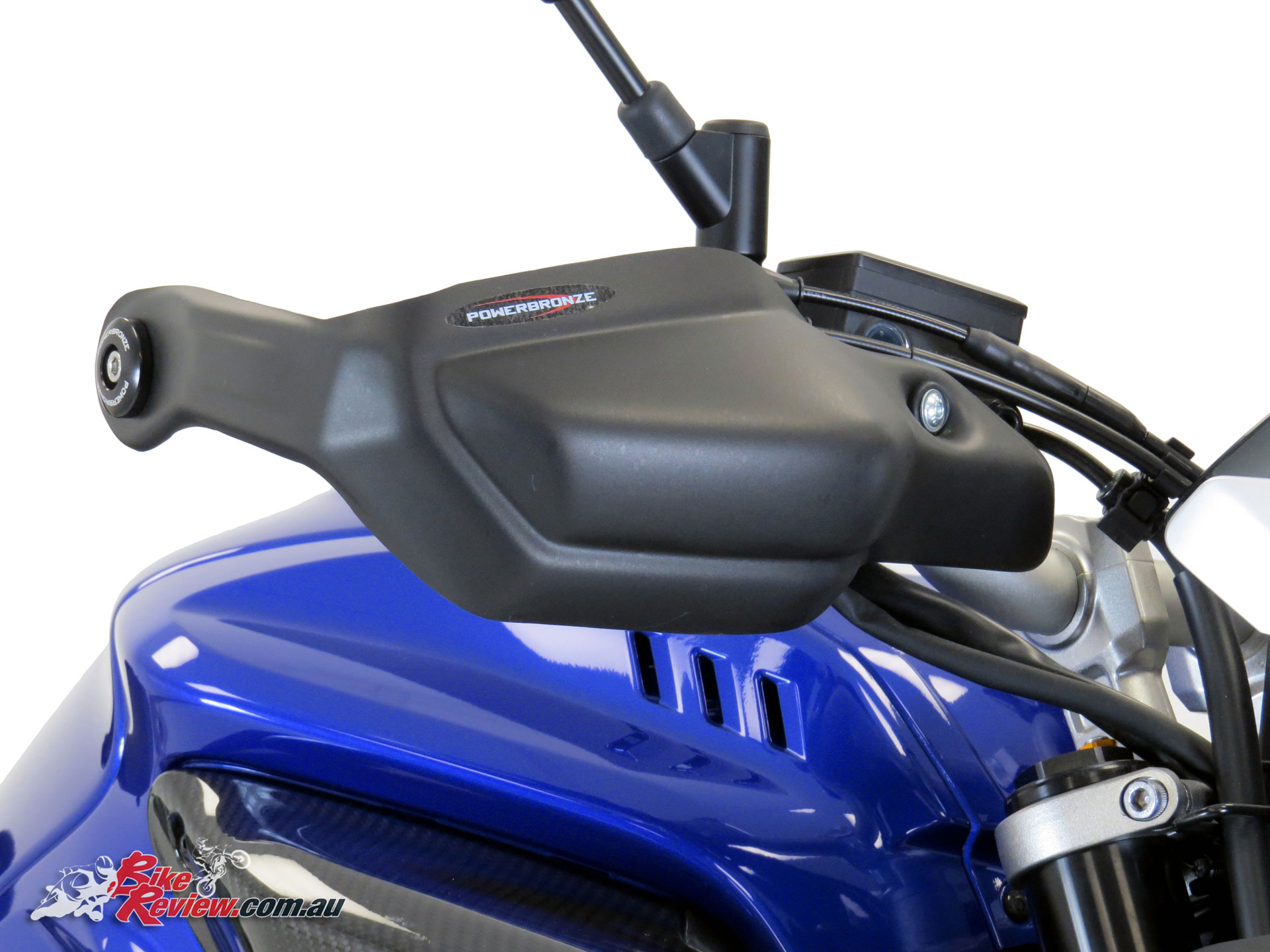 Bmw Mt >> New Product: Powerbronze Hand Guards - Bike Review