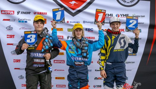 Yamalube Yamaha Racing: 1-3 MXD finish at Wonthaggi