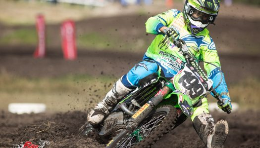 Kawasaki's Crawford & Tonkov top 10 at Wonthaggi