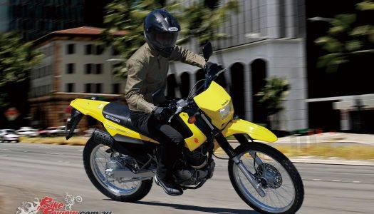 2017 Suzuki DR200S road-registerable Australia-wide