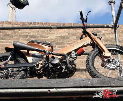 2017 Throttle Roll - Bike display