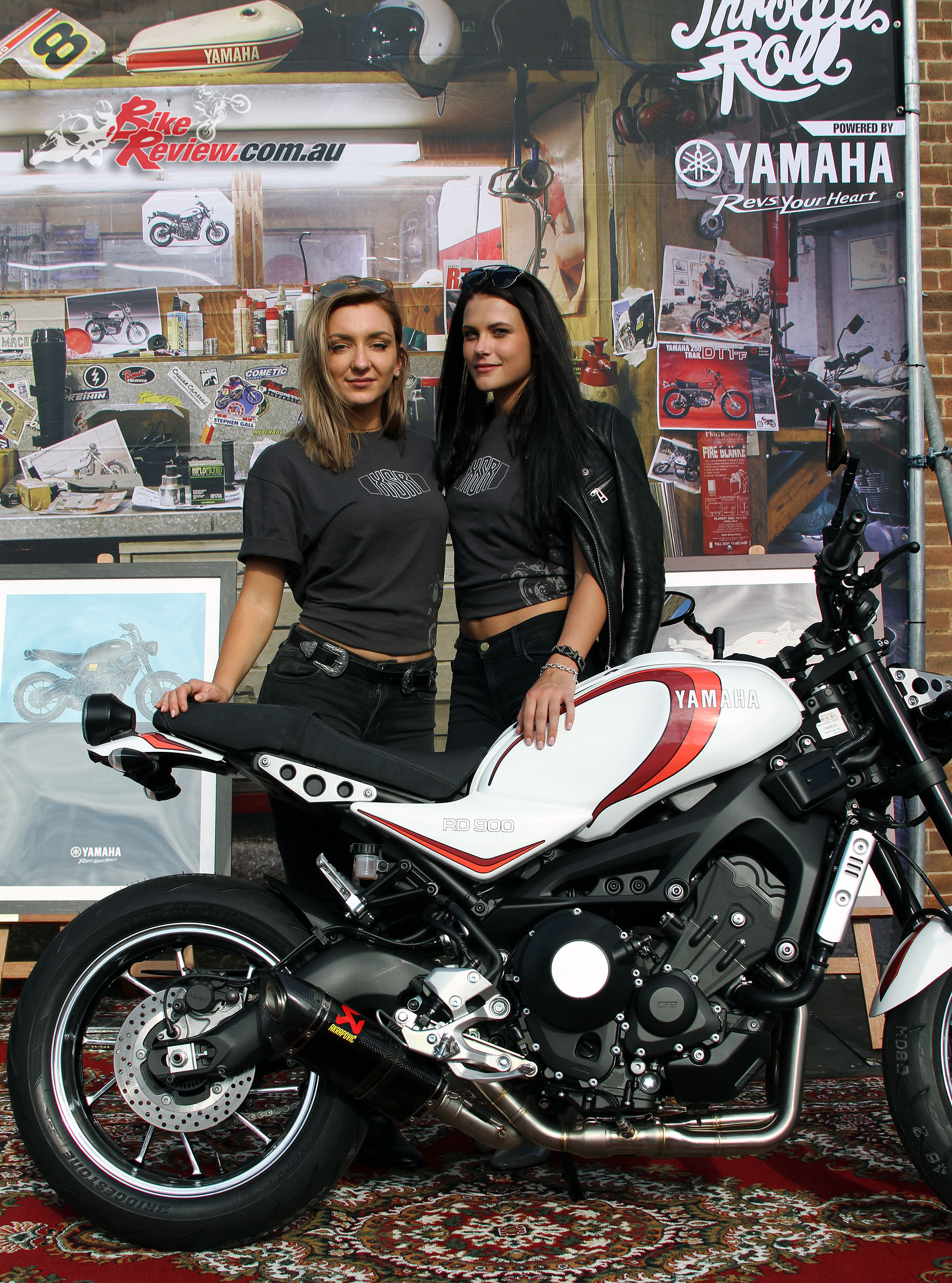 2017 Throttle Roll - Yamaha XSR900 'RD 900'