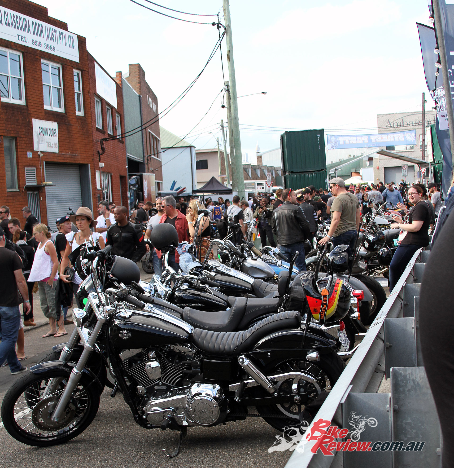 2017 Throttle Roll - There was plenty of people coming through the gates