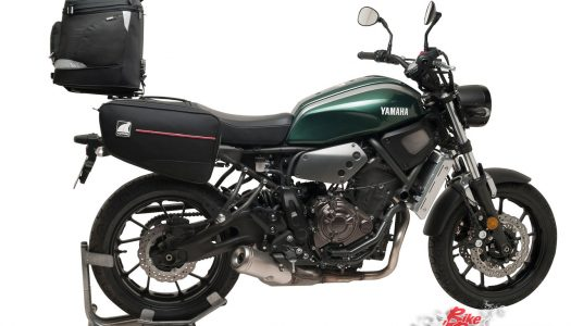 New Product: Ventura luggage systems for Yamaha XSR700