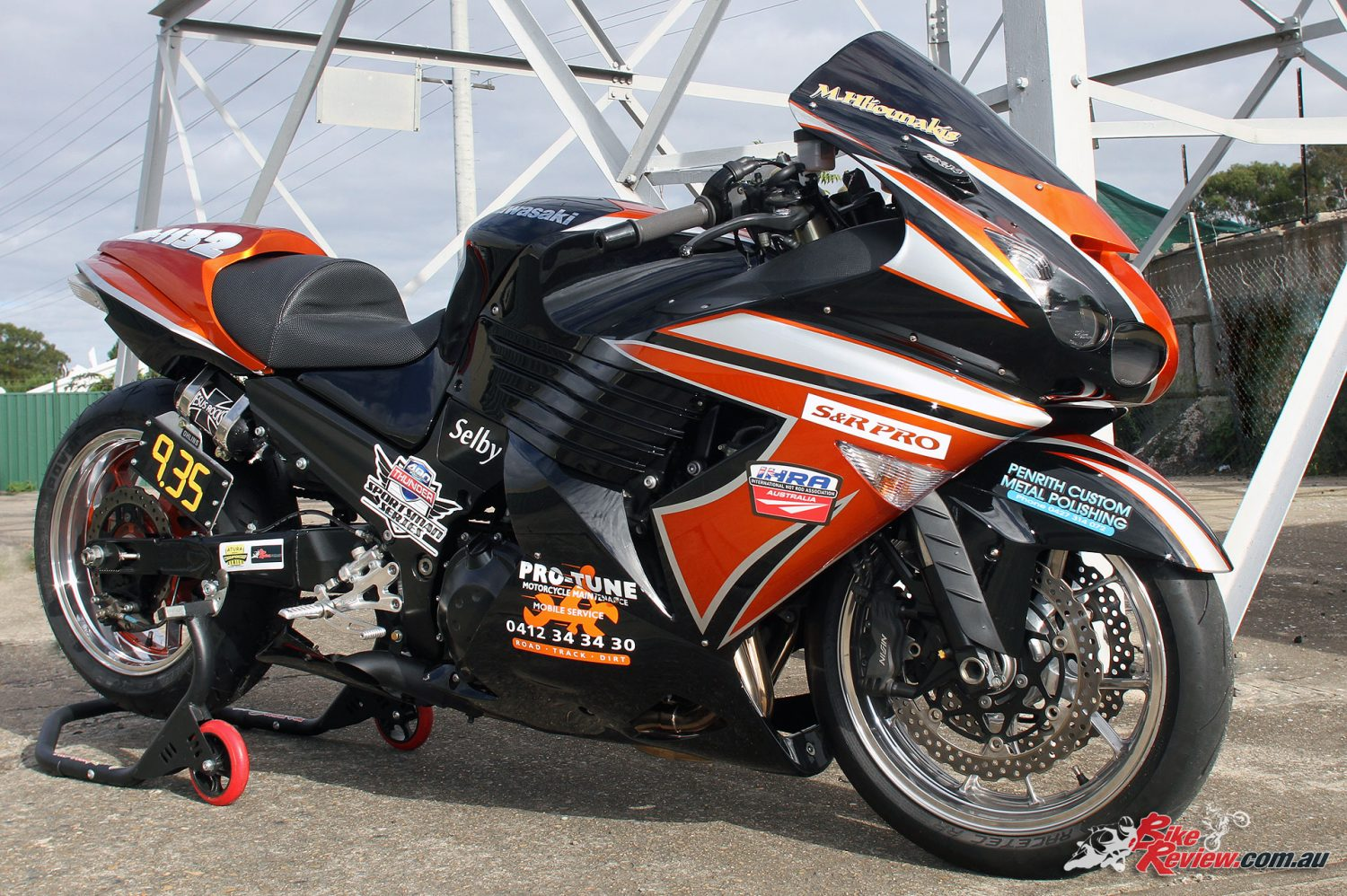 Custom Pro-Tune nine-second ZX-14