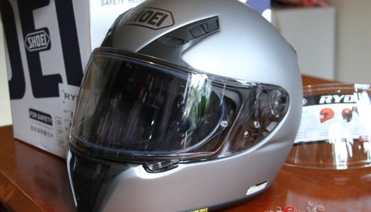 New Product: Shoei Transitions Adaptive Shield