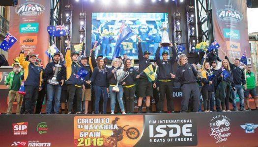Australian 2017 ISDE Teams Announced