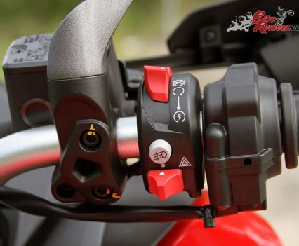 Ducati Multistrada 950 right switchblock
