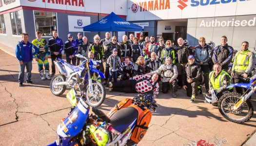 Cessnock hosts world's first WR250R Rally
