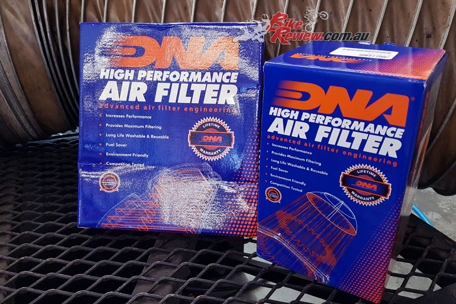 DNA High Performance Airfilter and Stage 2 Airbox Lid Kit - From Kenma Australia