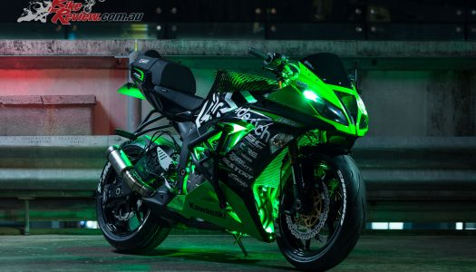 Kawasaki Stunt Rider JB unveils Ninja ZX-6R stunt bike