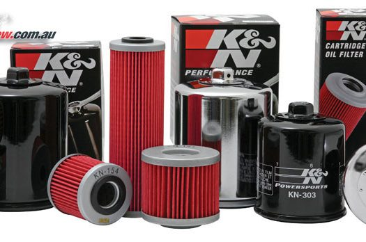 K&N motorcycle and car oil filter range