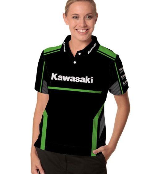 Kawasaki Ladies Polo shirt