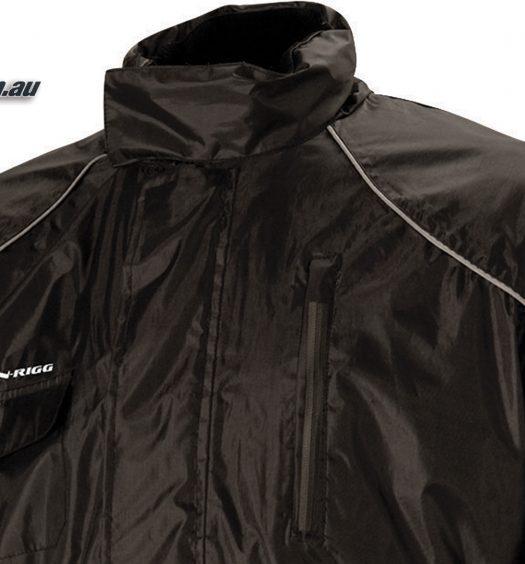 Nelson-Rigg 2-Piece Aston Rainsuit - Black