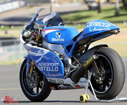 Ex-Eugene Laverty Aprilia RSW250 GP