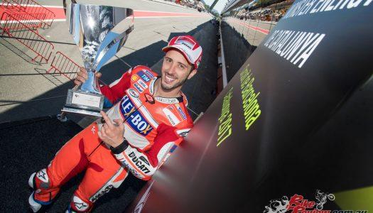 Dovizioso dominates Catalunya GP