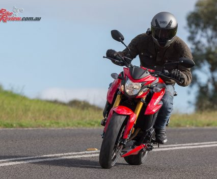 I found the GSX-S750 a strong performer with good torque from down low and a nice top end punch. More than enough for me on the road and by no means near the bike's limits, with smooth and predictable delivery.