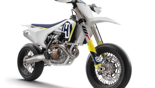 Husqvarna introduces new FS 450 Supermoto