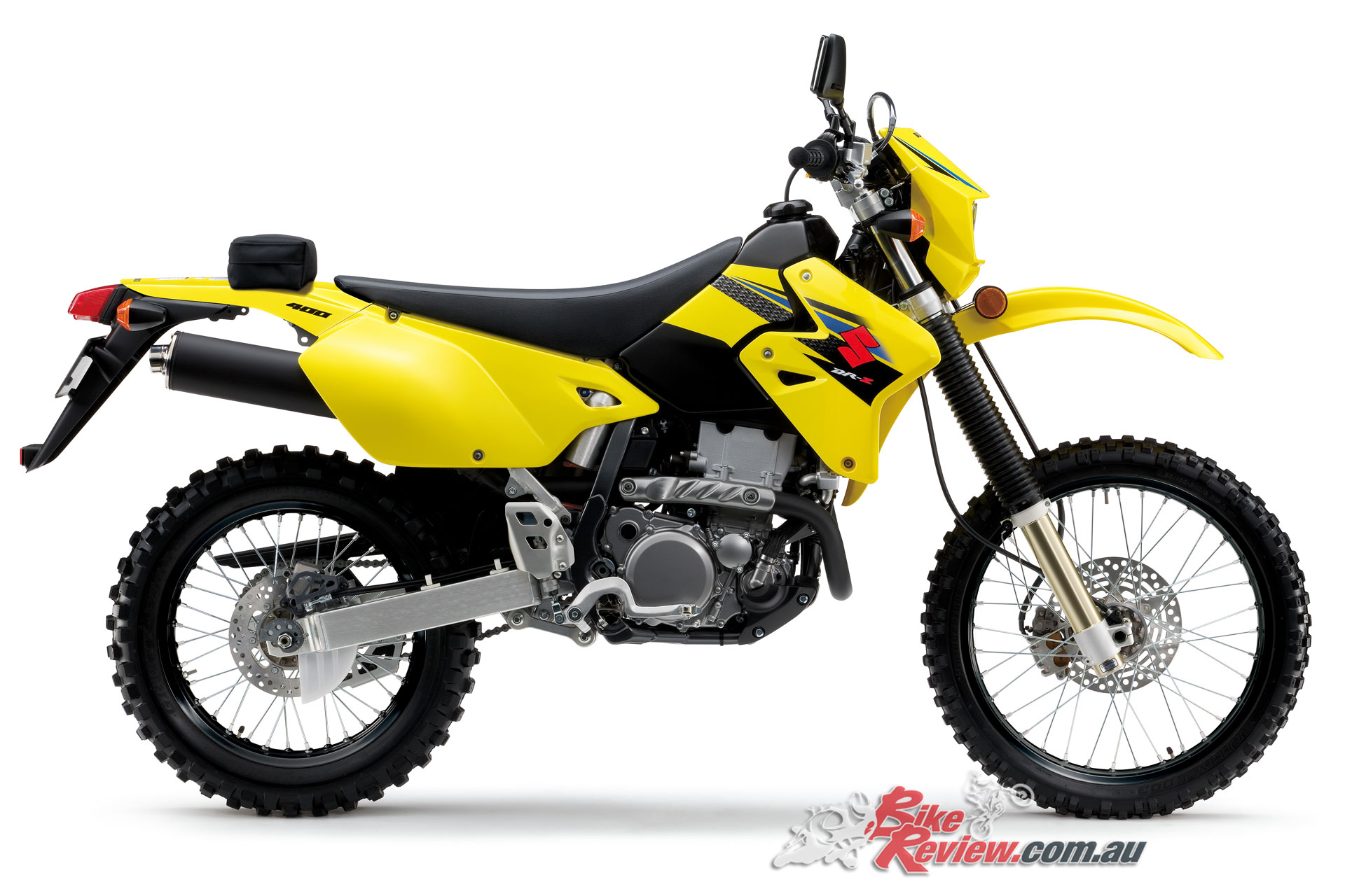 2018 suzuki dr z400e on sale now bike review. Black Bedroom Furniture Sets. Home Design Ideas