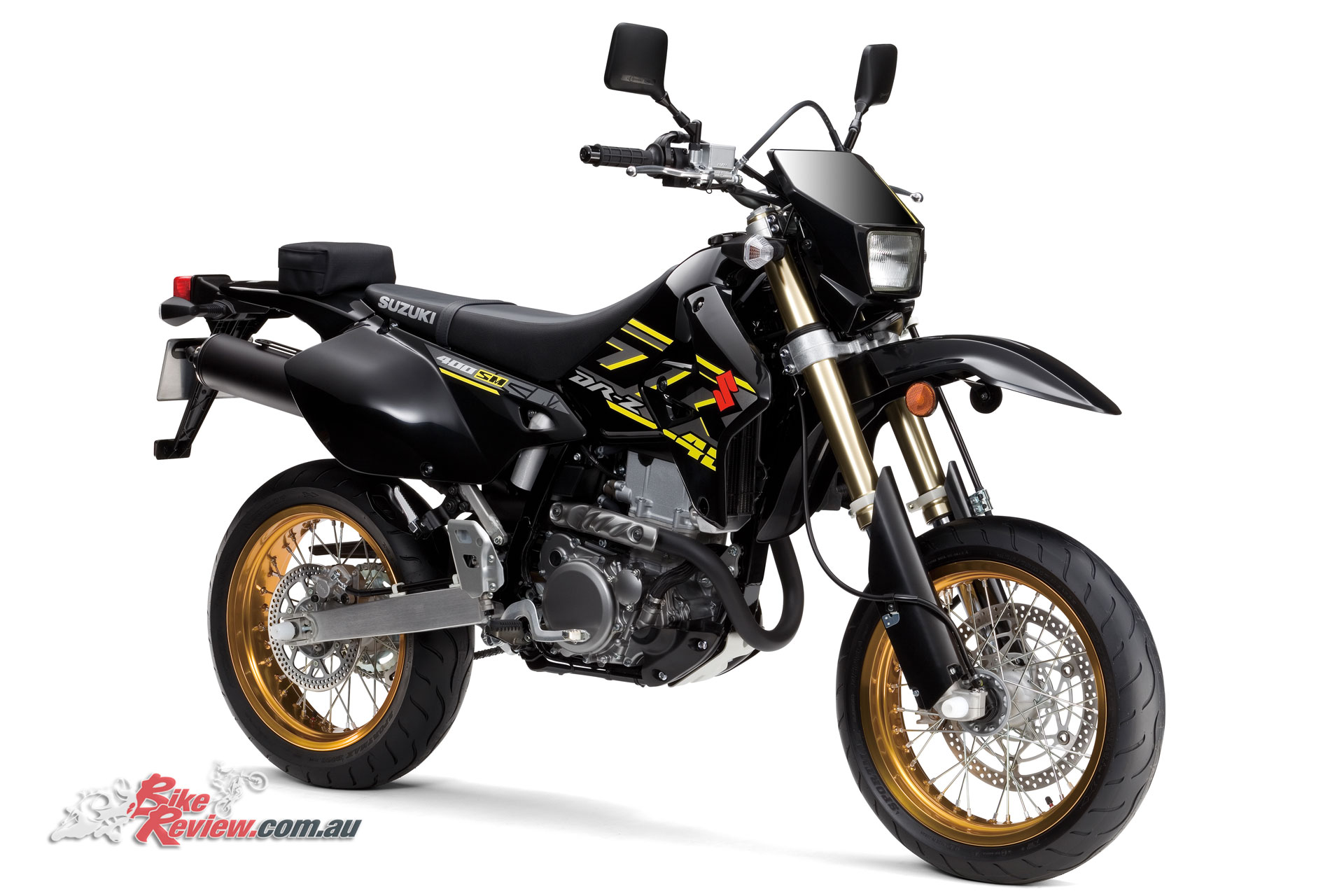 The 2018 DR-Z400SM arrives with new colour - Bike Review