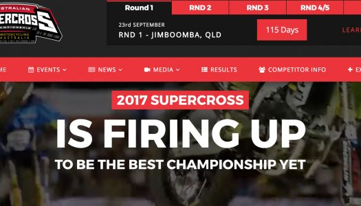 New Australian Supercross website now live!