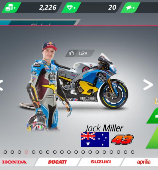 MotoGP Championship Quest - Jack Miller
