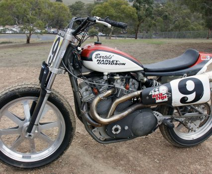 While by means an example of an early XR 750, this does represent the evolution to a seriously competitive machine
