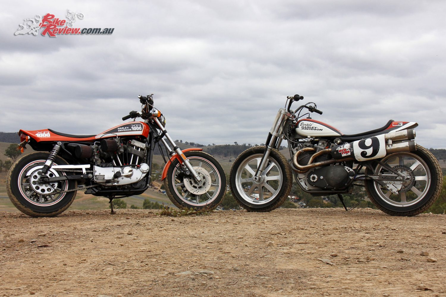 Harley-Davidson XR 750 Flat Tracker and XR 1000