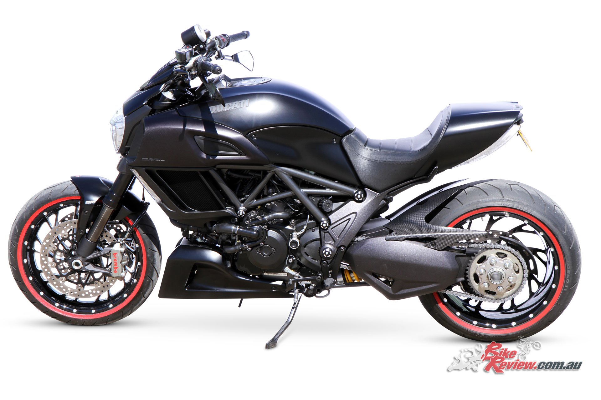 Custom Turbo D Super Cruiser Ducati Diavel Bike Review