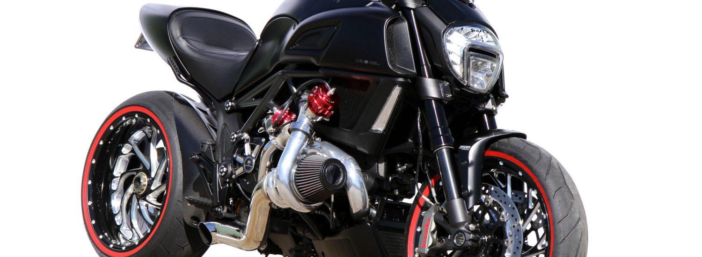 Custom S&R Pro Turbo Ducati Diavel