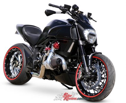 Custom S&R Pro Turbo Ducati Diavel