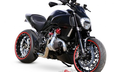 Custom: Turbo'd Super Cruiser – Ducati Diavel