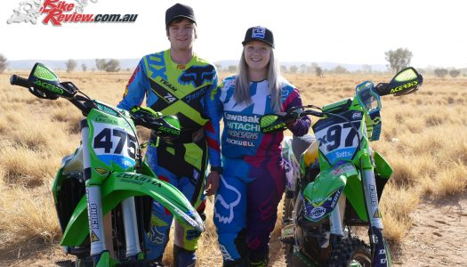 Kawasaki' Meghan Rutledge and Matt Jones post strong Finke results