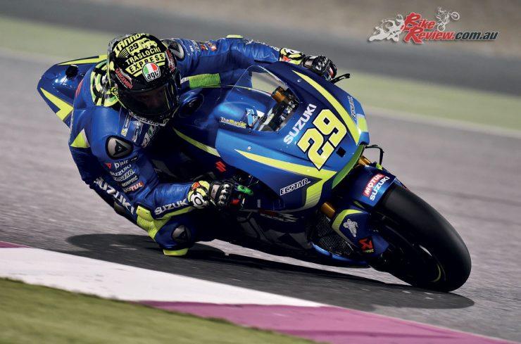 Andrea Iannone and the Suzuki MotoGP Team use Motul oil