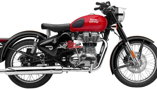 Redditch 500 joins the Royal Enfield 350/500 Classic Series