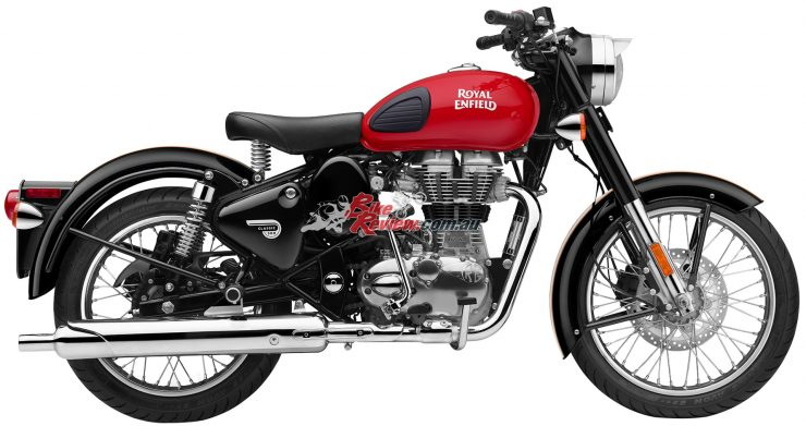 Royal Enfield Redditch 500 LE - Red