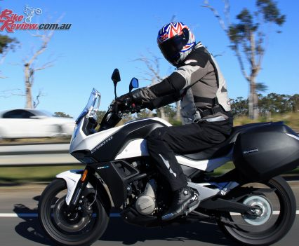 2017 CFMoto 650MT highway riding