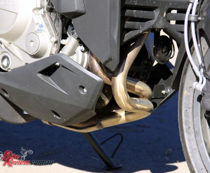 2017 CFMoto 650MT exhaust headers