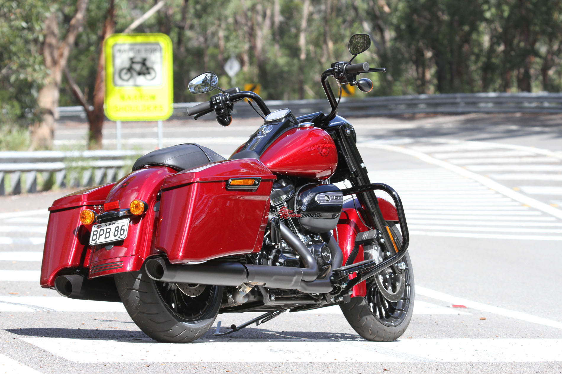 2017 Harley Road King Seat Height
