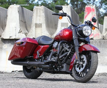The 2017 Road King features an updated powerplant and suspension